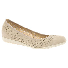 Buy Gabor Zara Perforated Pumps Online at johnlewis.com