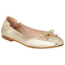 Buy L.K. Bennett Thea Bow Detail Pumps, Soft Gold Online at johnlewis.com