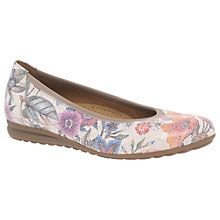 Buy Gabor Splash Wide Fit Pumps, Multi Online at johnlewis.com