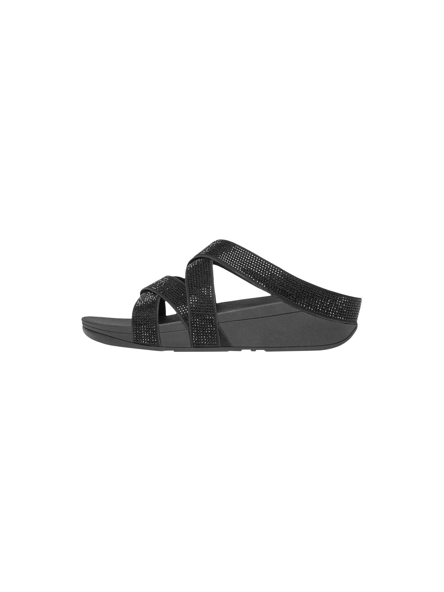97a91b91d5c1 FitFlop Slinky Rokkit Criss Cross Sandals at John Lewis   Partners