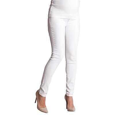 Séraphine Zahara Maternity Skinny Jeans, White