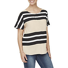 Buy Mamalicious Lillo Lia Striped Woven Maternity Nursing Top, Multi Online at johnlewis.com