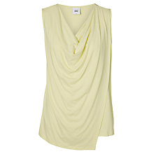Buy Mamalicious Brooklyn Iris Jersey Maternity Nursing Top, Yellow Online at johnlewis.com