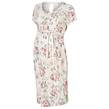 Buy Mamalicious Adalina Short Sleeve Lace Maternity Dress, Floral Online at johnlewis.com