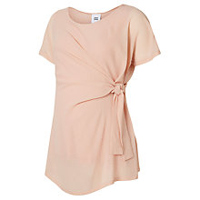 Buy Mamalicious Lelista Short Sleeve Woven Top, Rose Online at johnlewis.com