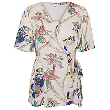 Buy Mamalicious Rinse Tess Floral Maternity Nursing Top, Multi Online at johnlewis.com