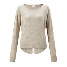 Buy Numph Juniana Merino Wool Jumper, Peach Online at johnlewis.com