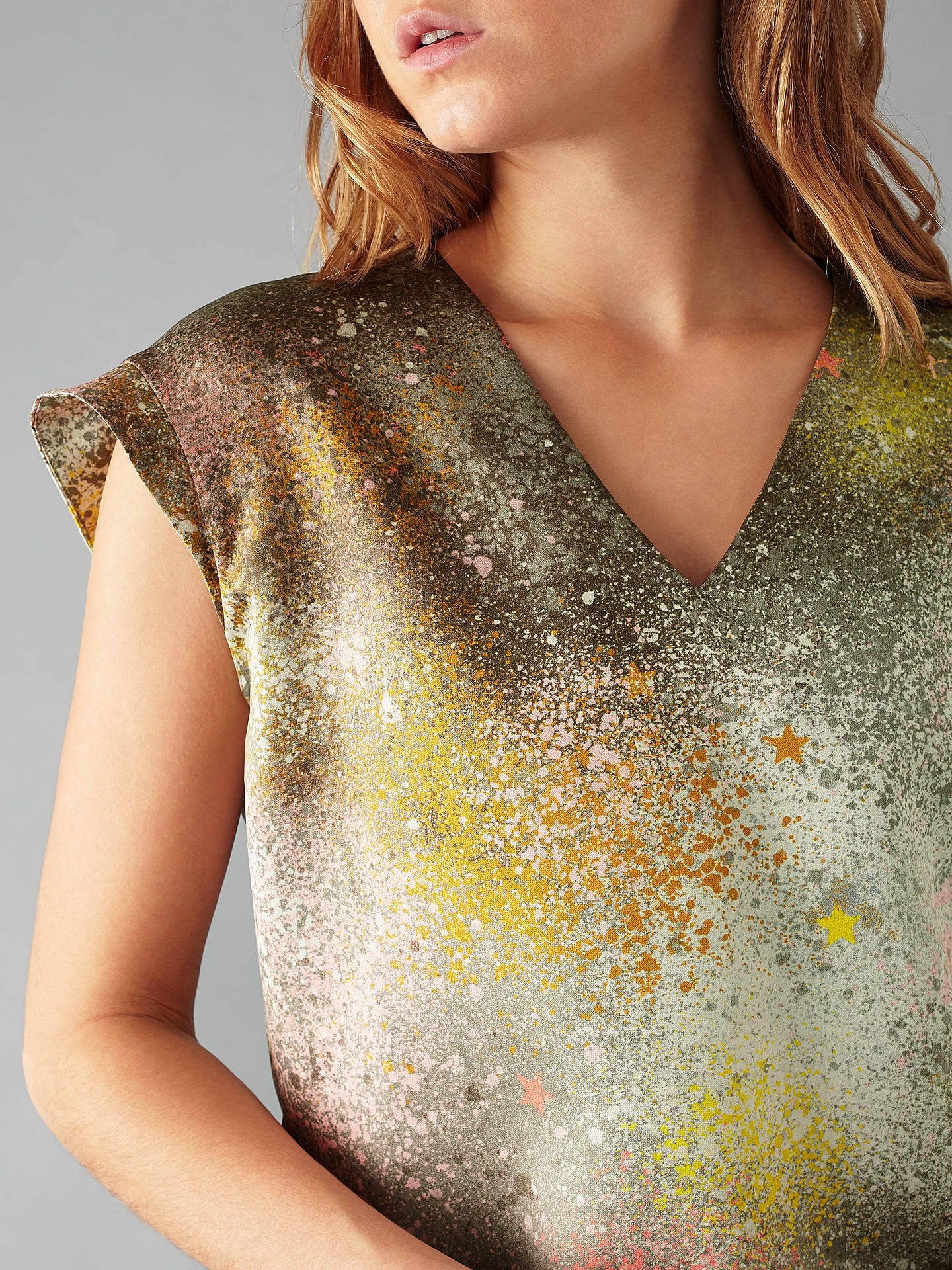 BuyDeborah Campbell Atelier Rae Of Light Star Top, Multi, 8 Online at johnlewis.com