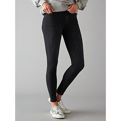 Pieces Five Delly Skinny Jeans, Black