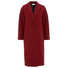 Buy Finery Edgware Coat, Red Online at johnlewis.com