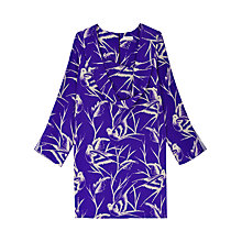 Buy Finery Theodore Cowl Neck Tunic Dress, Swallow Print Online at johnlewis.com