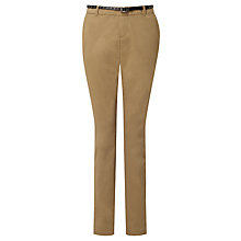 Buy Maison Scotch Belted Chino Trousers Online at johnlewis.com