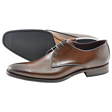 Buy Loake Bros. Bressler Derby Shoes, Dark Brown Online at johnlewis.com