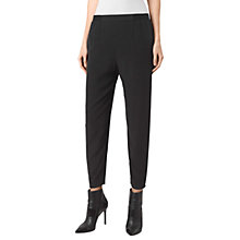 Buy AllSaints Helena Trousers, Black Online at johnlewis.com