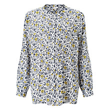 Buy East Naomi Pintuck Shirt, White Online at johnlewis.com
