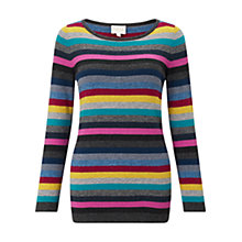 Buy East Stripe Jumper, Multi Online at johnlewis.com