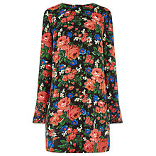 Buy Warehouse Lupita Rose Shift Dress, Multi Online at johnlewis.com