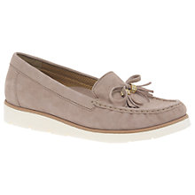 Buy Gabor Isabelle Bow Loafers, Rose Online at johnlewis.com