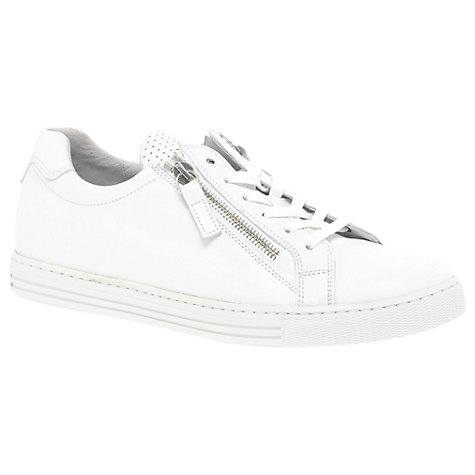 WIDE FIT - Lace-ups - white/silver
