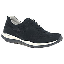 Buy Gabor Helen Extra Wide Fit Trainers, Navy Online at johnlewis.com