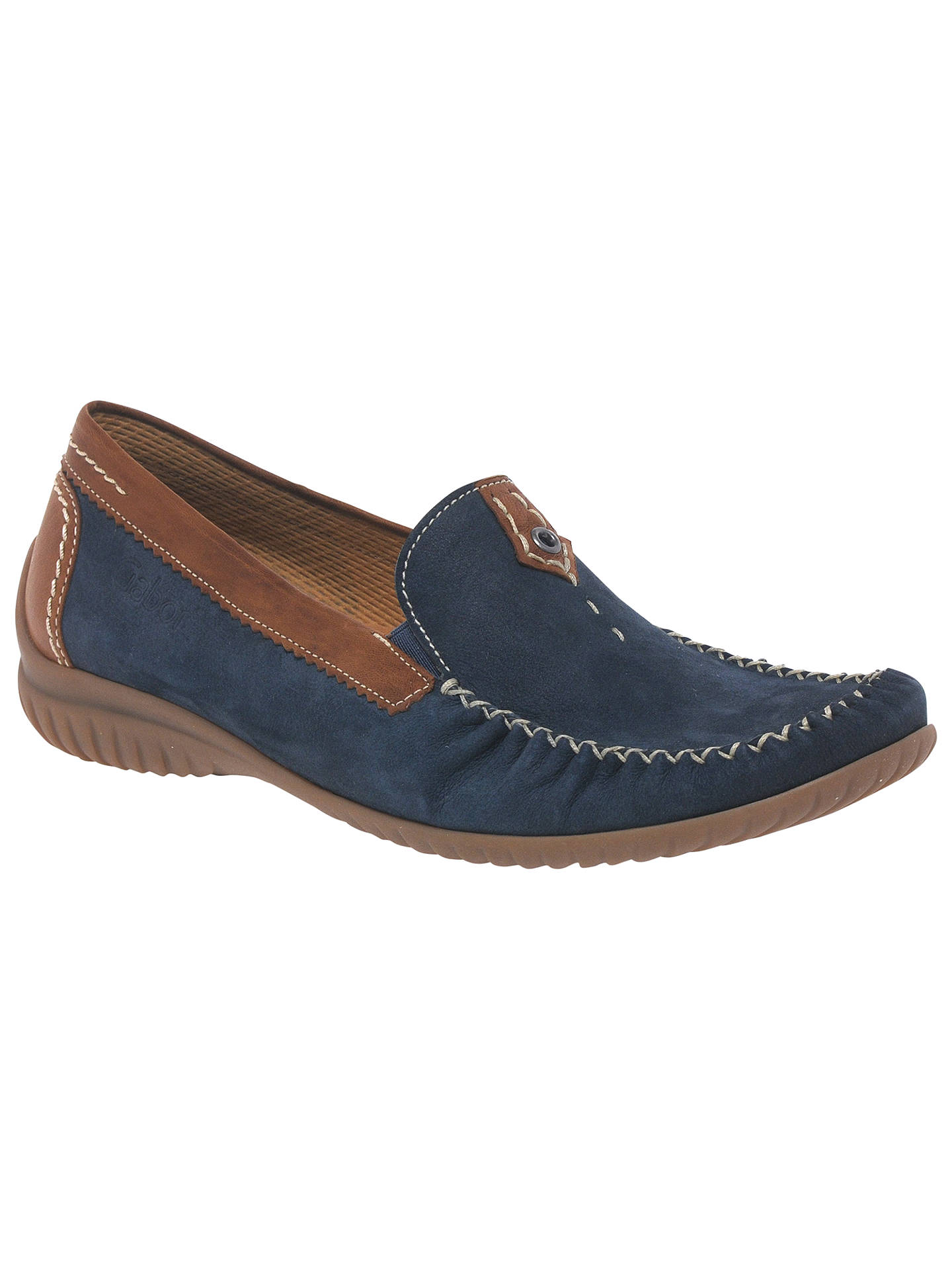 9c16350f16e6 Gabor California Wide Fit Loafers at John Lewis   Partners