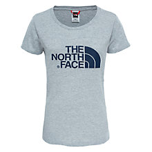 Buy The North Face Easy Short Sleeve T-Shirt, Light Grey Online at johnlewis.com