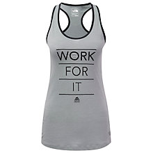 Buy The North Face Mountain Athletics Graphic Play Hard Tank, Grey Online at johnlewis.com