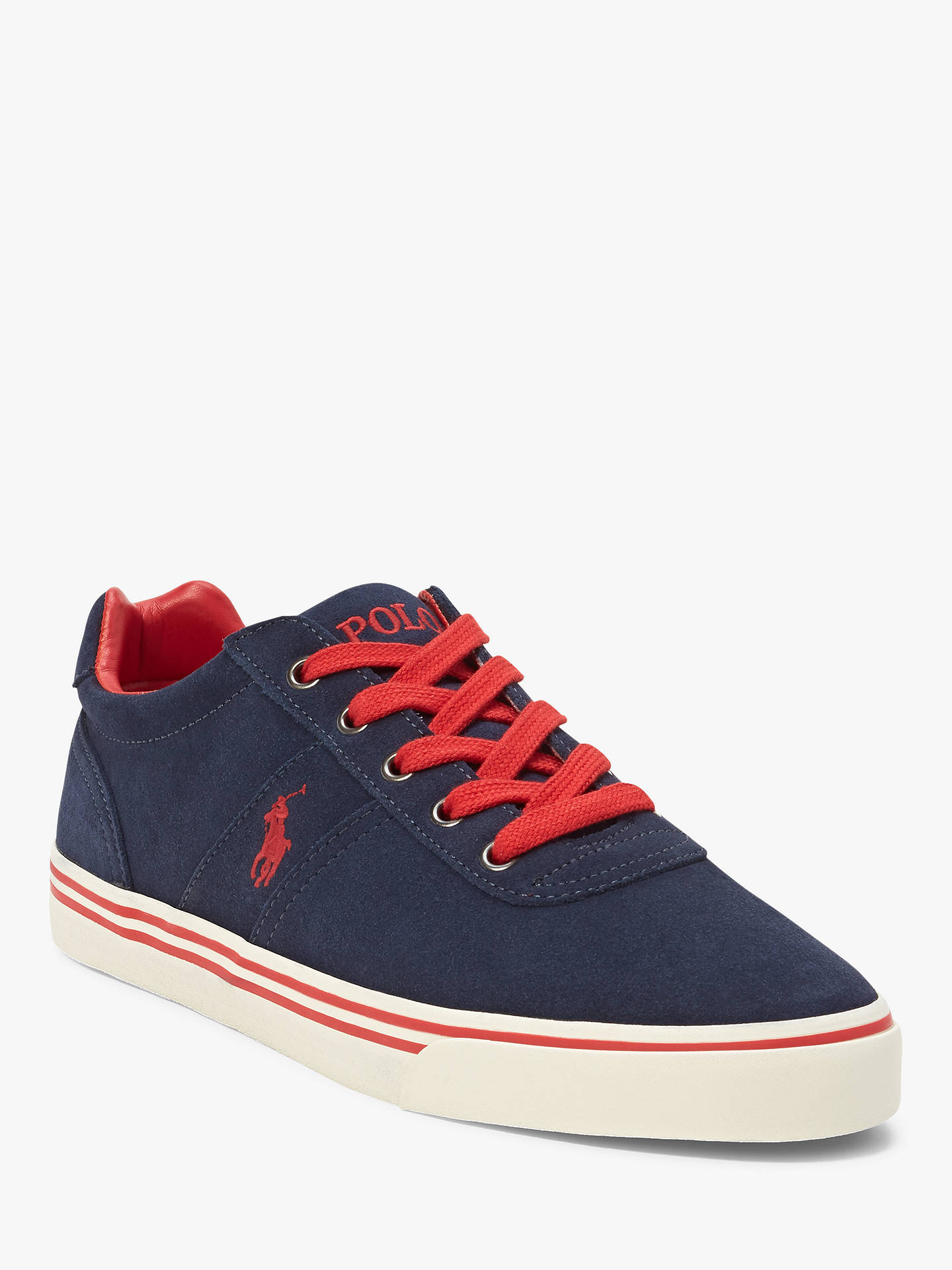 8bbe472156b Polo Ralph Lauren Hanford Suede Trainers at John Lewis   Partners