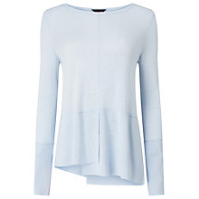 Buy Phase Eight Felicity Step Hem Jumper, Soft Blue Online at johnlewis.com