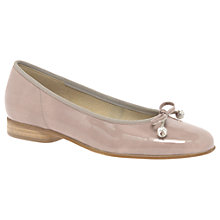 Buy Gabor Lisa Bow Ballet Pumps Online at johnlewis.com