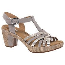 Buy Gabor Cheri Wide Fit Block Heeled Sandals Online at johnlewis.com