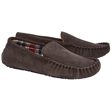 Buy John Lewis Alfred Checked Slippers Online at johnlewis.com