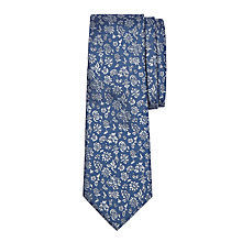 Buy John Lewis Boys' Archive Floral Print Tie, Blue Online at johnlewis.com