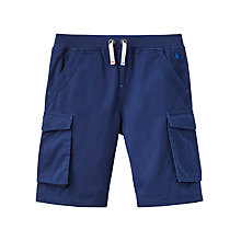 Buy Little Joule Boys' Bob Cargo Shorts, Navy Online at johnlewis.com