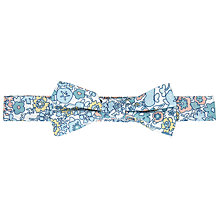 Buy John Lewis Heirloom Collection Boys' Archive Floral Bow, Blue Online at johnlewis.com