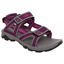 Buy The North Face Hedgehog II Women's Sandals, Purple Online at johnlewis.com