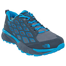 Buy The North Face Endurus Hike GTX Waterproof Men's Walking Shoes, Grey/Blue Online at johnlewis.com