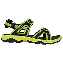 Buy The North Face Hedgehog II Men's Sandals, Green Online at johnlewis.com