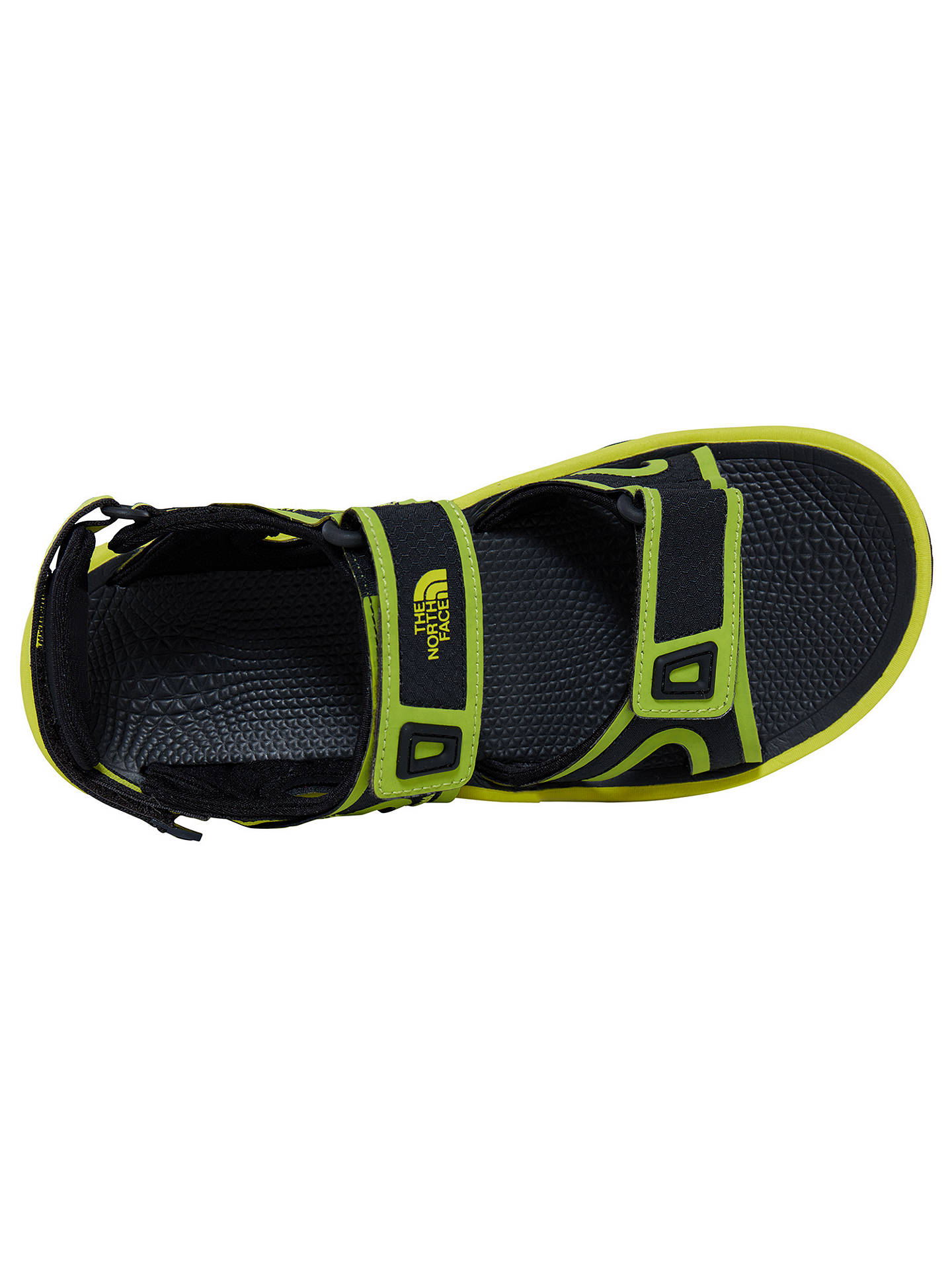 df6dd0105 The North Face Hedgehog II Men's Sandals, Green at John Lewis & Partners