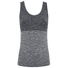 Buy Manuka Life Yoga Flow Vest, Black Online at johnlewis.com