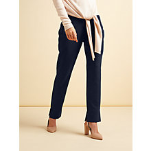 Buy Modern Rarity Split Leg Trousers, Navy Online at johnlewis.com