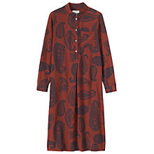 Buy Toast Srinigar Paisley Print Shirt Dress Online at johnlewis.com