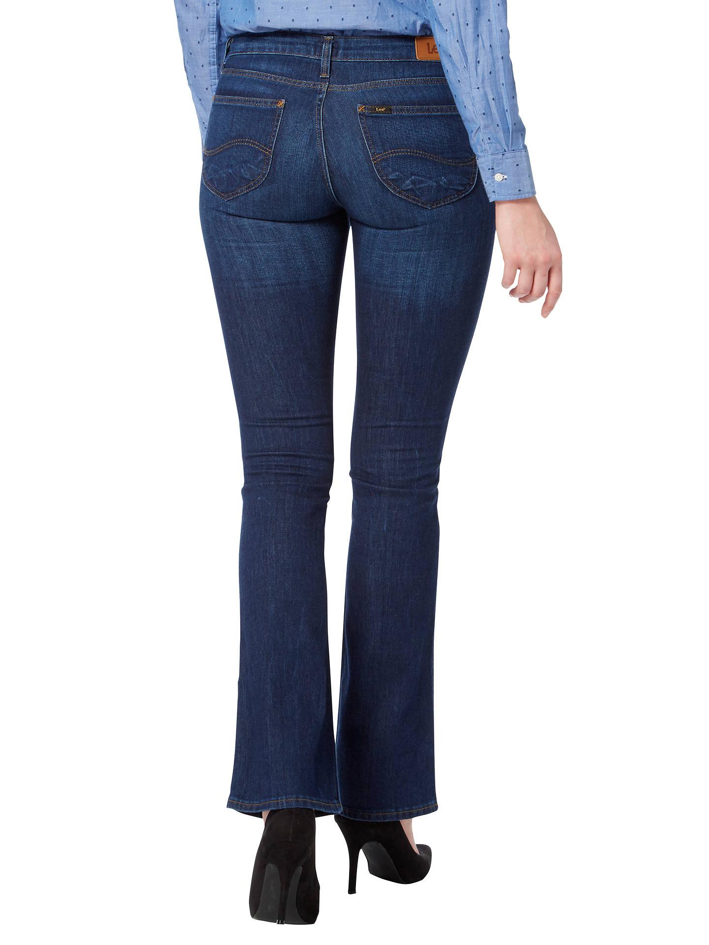 595ae138a99 ... Buy Lee Hoxie Skinny Bootcut Jeans, Heritage Blue, W28/L31 Online at  johnlewis ...