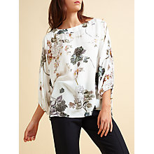 Buy Modern Rarity Archive Print Drawstring Sleeve Top, Bloom Online at johnlewis.com