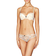 Buy Heidi Klum Intimates Sabine Lace Contour Balconnet Bra, Gardenia/Sunset Online at johnlewis.com