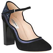 Buy L.K. Bennett Nadja Block Heeled Court Shoes Online at johnlewis.com