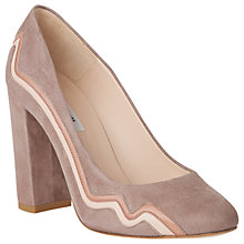 Buy L.K. Bennett Sienna Block Heeled Court Shoes Online at johnlewis.com