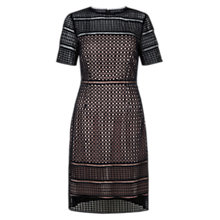 Buy Hobbs Elize Dress, Navy/Blush Online at johnlewis.com