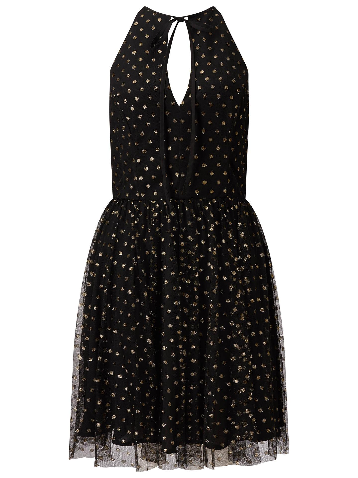 BuyMiss Selfridge Spot Mesh Prom Dress 3e26c67ee
