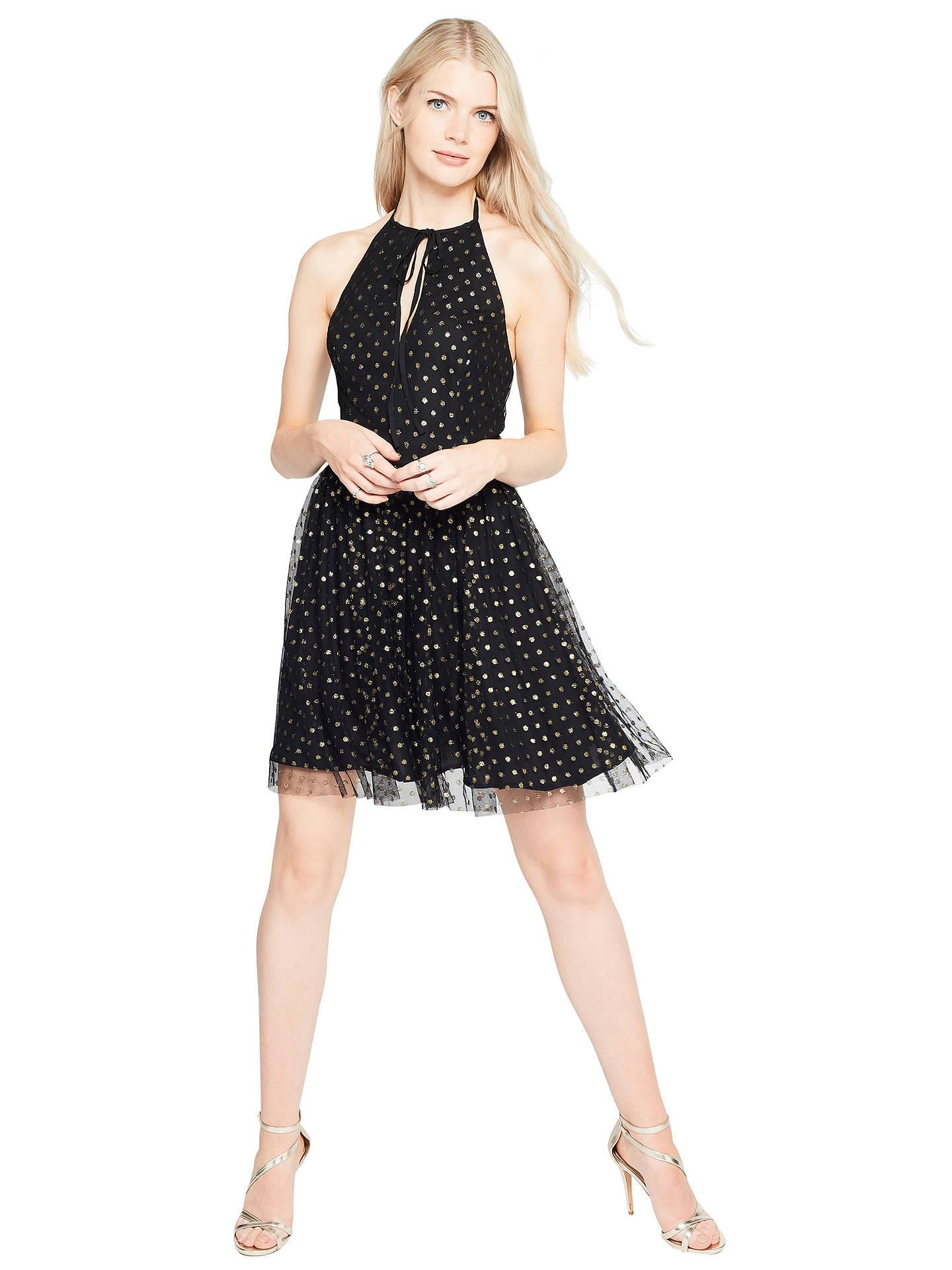 ... BuyMiss Selfridge Spot Mesh Prom Dress 4041af816